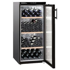 Liebherr Vinothek Single Temperature Wine Cabinet - WKb 3212 - Capacity: 164 Bottles - Glass Door - Perfect for anywhere in your home, kitchen, dining room or living room! Conservation, Different Wines, Metal Rack, Wine Collection, Wine Cabinets, Wine Fridge, Wine Gifts, Glass Door, Wine Rack