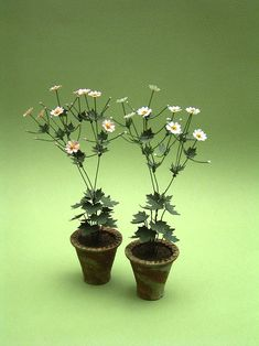 Japanese Anenome Paper Flower Kit for scale Dollhouses, Florists and Miniature Gardens Paper Leaves, Paper Flowers, Colorful Flowers, White Flowers, Miniature Plants, Miniature Gardens, Miniature Dollhouse, Diy Dollhouse, Dollhouse Furniture