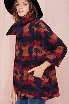 Capulet Wrapped Up Jacket | Shop Jackets + Coats at Nasty Gal
