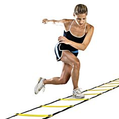 Durable 12 rung 18 Feet 6m Agility Ladder for Soccer Speed Training Outdoor Fitness Equipment Free shipping Training Ladder H1E1 #clothing,#shoes,#jewelry,#women,#men,#hats,#watches,#belts,#fashion,#style