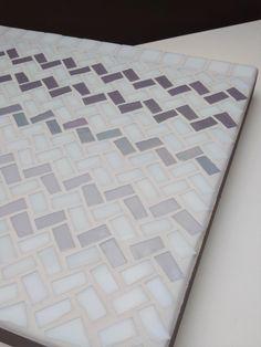 "Mosaic Artwork ""Sweater"" // Three shades of grey"
