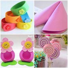 Lembrancinhas com EVA para Dia das Crianças Easter, Bows, Diy, Gardens, School, Diy Home, Creative Crafts, Craft Ideas, Paper Ornaments