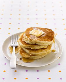 Martha Stewart Basic Pancakes - the best pancake recipe ever!