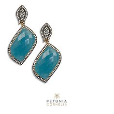 Handmade fine jewelry. Semiprecious stones, gold, silver, zirconia and Swarovski crystals. #earrings #finejewelry #jewelry  #swarovski #luxury #accessories #beautiful #original #petunia  Shop at our Etsy store (www.etsy.com/shop/petuniacornelia) or via email: petuniacornelia@hotmail.com and phone USA: ⁺1-8328448633