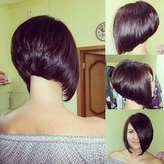 Stacked Bob Hairstyles Beauteous 15 Best Hairstyles For Thick Hair  Pinterest  Stacked Bob