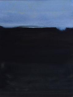 Koen Lybaert - Årum - watercolor on paper [40 x 30] / 2015
