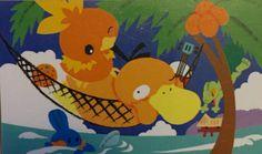 Psyduck Pokemon Cards, Tweety, Illustrations, Fictional Characters, Art, Art Background, Illustration, Kunst, Performing Arts