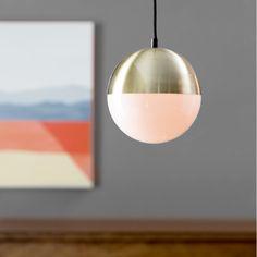 Langley Street Escuela 1 Light Mini Pendant & Reviews | Wayfair