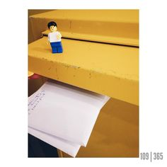 Got some mail delivered - studying at university is hard work man!  #mail #yellow #mailbox #legography #legolife #legogram #lego #legostagram #stevelego #365photos #365project #vsco #aphotoaday #picoftheday #potd by ordinarylegoguy