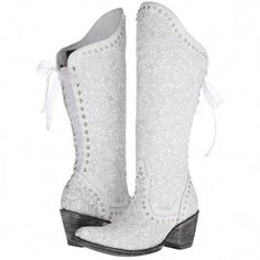 c9e8bab413 lace up cowboy boots, white western boots, lace up boots, cowgirl boots and  white boots