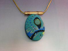 mokume gane pendant by mpetrie450, via Flickr