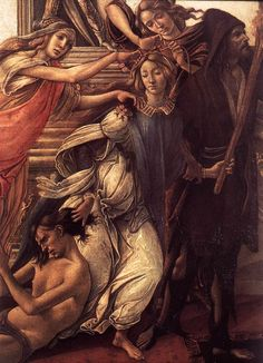 .:. Sandro Botticelli (Florence 1445 – 1510 Florence) 'Calumny of Apelles'