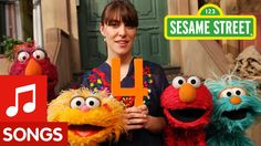 Sesame Street: Feist sings 1,2,3,4 Love Feist, her voice is so warm and pretty. ( : The boys love this song.