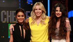 Selena Gomez, Vanessa Hudgens and Chelsea Handler