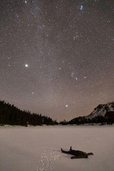 Enjoying stars