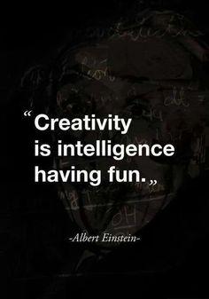 Einstein quote -creativity
