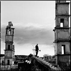 Anselm Kiefer shot by Anton Corbijn.