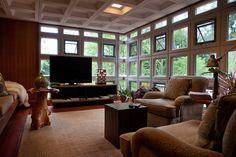 Turkel House by Frank Lloyd Wright in the Palmer Woods Neighborhood of Detroit, MI
