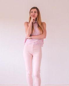 Untitled White Jeans, Pants, Fashion, Trouser Pants, Moda, Fashion Styles, Women's Pants, Women Pants, Fashion Illustrations