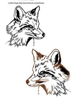 Silhouette plotter file free, Plotter Datei kostenlos, plotter freebie, Fuchs, fox