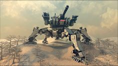 Spartan mobile Fortress by *Avitus12 on deviantART