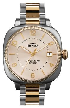 Shinola+'Gomelsky'+Bracelet+Watch,+36mm+available+at+#Nordstrom