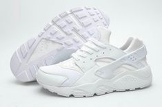 best loved 706fc 4f0df Nike Huarache White Pure Platinum All White Cheap Nike Air Max, Nike Shoes  Cheap,