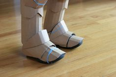 Knight costume | detail of foot armor | wrnking | Flickr
