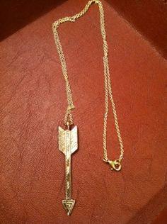 House of Harlow Arrow Drop Pendant