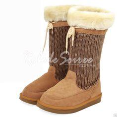 Bottes Fourrées-Sexy et élégante à la mode classique de BGG bottes de neige bott