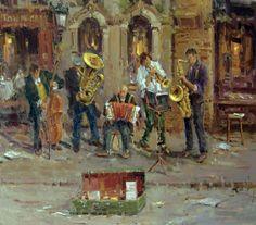 Mostafa Keyhani street musicians
