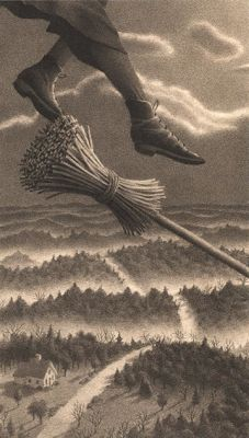 Hold On Tight To Your Broom ! Chris Van Allsburg