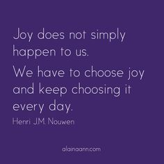 Joy does not simply...