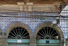 Azulejos antigos no Rio de Janeiro: Santa Teresa I - rua André Cavalcanti