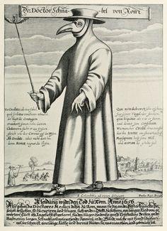 A sombria aparência de quem tratava de doenças contagiosas e epidêmicas na Idade Média http://www.fatoscuriososdahistoria.com/2015/12/medicos-peste-negra.html