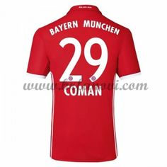 Bayern Munich Nogometni Dresovi 2016-17 Coman 29 Domaći Dres Komplet