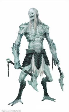 White walker on steroids