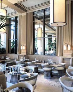 Chairs For Sale Restaurant Classic Restaurant, Luxury Restaurant, Restaurant Lighting, Restaurant Interior Design, Cafe Restaurant, Neoclassical Interior, Interior Design Images, Hotel Interiors, Hospitality Design