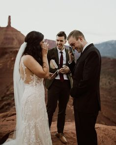 "CEDAR & PINES on Instagram: ""This. I wanna be there for moments like these. Ready, with a camera in hand, to capture it, so in twenty years when you're celebrating all…"" Elope Wedding, Wedding Attire, Wedding Ceremony, Elopement Wedding, Moab Desert, Moab Utah, Zion National Park, Elopements, Intimate Weddings"