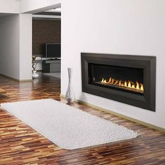 "Vantage Hearth Linear Direct Vent Gas Fireplace - 43"" with trim kit...$3314"