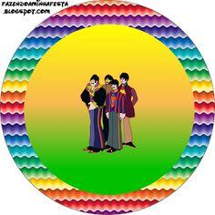 Imprimibles Submarino Amarillo (Beatles) 2.