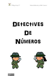 Detectives de números by Súper PT via slideshare
