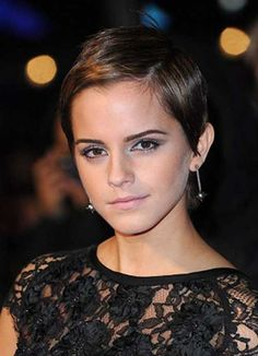 15. Pixie Cut for Round Faces
