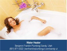 http://www.benfranklinplumbingut.com/services/water-heaters – Want to have a relaxing bath only to find out that your water heater is not working? Get help with any water heater repair at Benjamin Franklin Plumbing in Sandy, Utah.