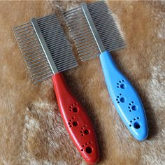 Like and Share if you want this  Dog Grooming Stainless Steel Anti-static Pets Hair Brush RANDOM COLOR     Tag a friend who would love this!     FREE Shipping Worldwide     Buy one here---> http://sheebapets.com/dog-grooming-stainless-steel-anti-static-pets-hair-grooming-two-sized-dense-comb-tooth-slicker-brush-for-dogs-free-shipping/