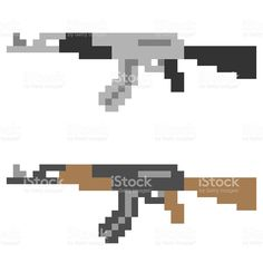http://media.istockphoto.com/illustrations/pixel-art-gun-illustration-id539962844