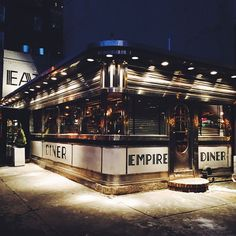 The Empire Diner, New York City