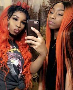 Follow @francisgakuru 💯👌 Cute Lesbian Couples, Lesbian Pride, Lesbian Love, Girlfriend Goals, Bff Goals, Best Friend Goals, Dope Hairstyles, Weave Hairstyles, Bestfriends
