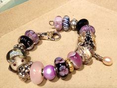 Retired purple pearl!  <3 #trollbeads