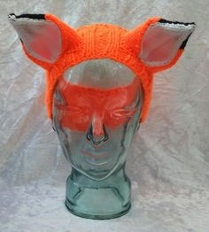 Orange Fox Headband